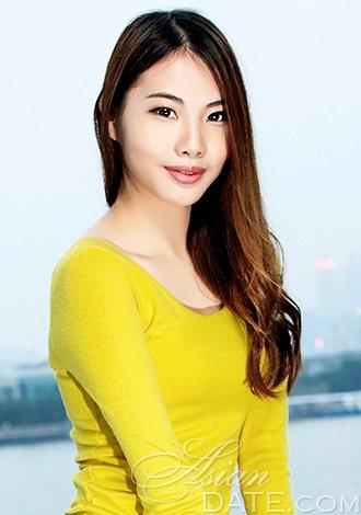 young asian member wanling from guangzhou 24 yo hair color brown